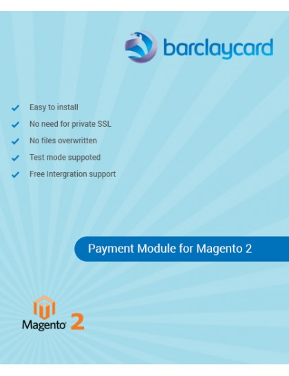 Barclaycard ePDQ Payment Gateway for Magento 2